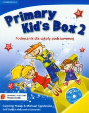 Primary Kid's Box 2 Podr�cznik z p�yt� CD,